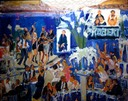 NY Bar Mitzvah painted live by Joan Zylkin The Event Painter